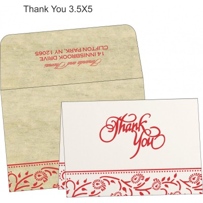 Thank You Cards - TYC-8206C