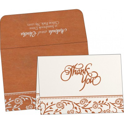 Thank You Cards - TYC-8206G