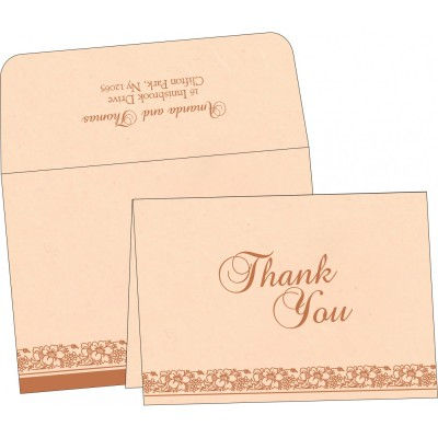 Thank You Cards - TYC-8207C