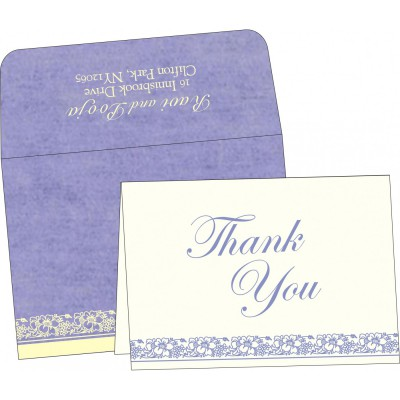 Thank You Cards - TYC-8207D