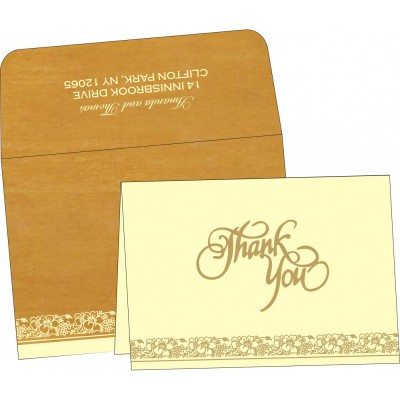 Thank You Cards - TYC-8207F