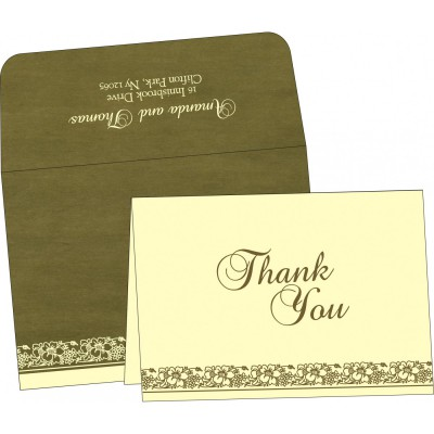 Thank You Cards - TYC-8207H