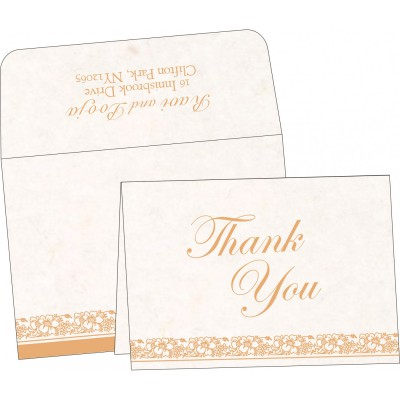 Thank You Cards - TYC-8207I