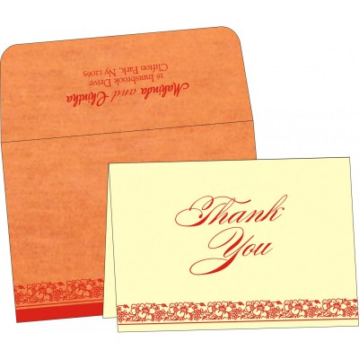 Thank You Cards - TYC-8207J