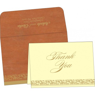 Thank You Cards - TYC-8207N