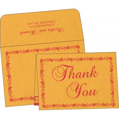 Thank You Cards - TYC-8208C