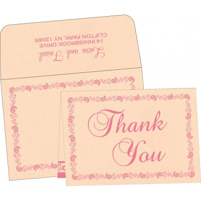Thank You Cards - TYC-8208F