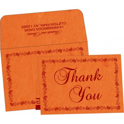 Thank You Cards - TYC-8208G