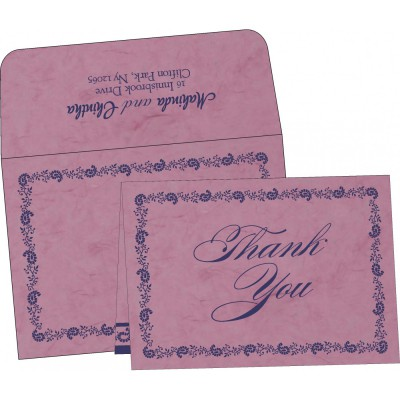 Thank You Cards - TYC-8208J