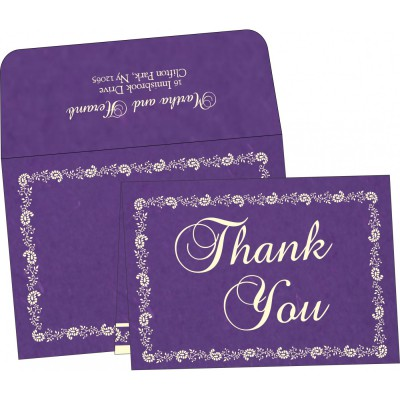 Thank You Cards - TYC-8208M