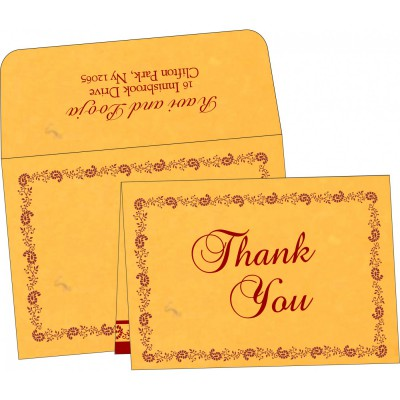 Thank You Cards - TYC-8208N