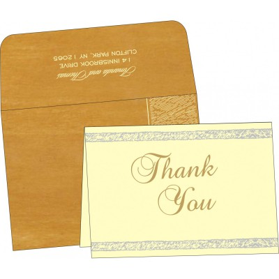 Thank You Cards - TYC-8209B