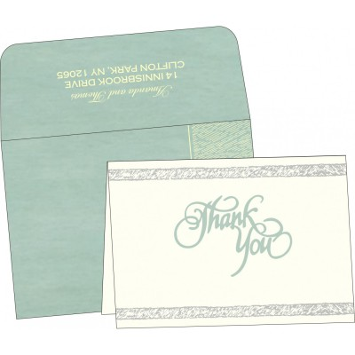 Thank You Cards - TYC-8209F