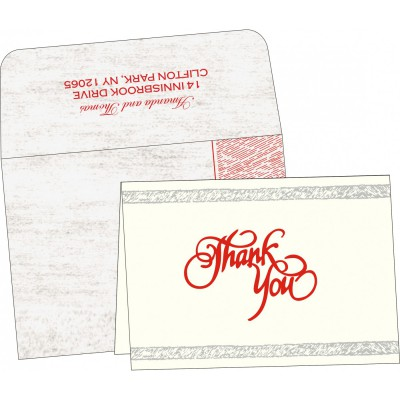 Thank You Cards - TYC-8209N