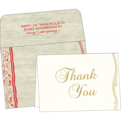 Thank You Cards - TYC-8210C