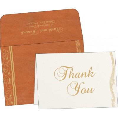 Thank You Cards - TYC-8210D