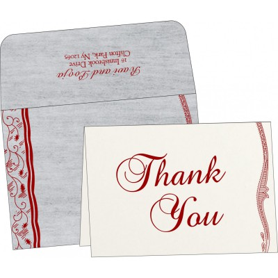 Thank You Cards - TYC-8210J