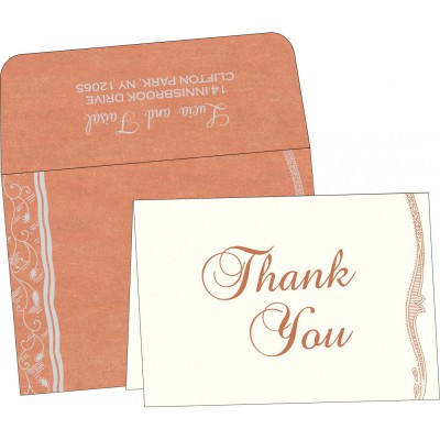 Thank You Cards - TYC-8210M