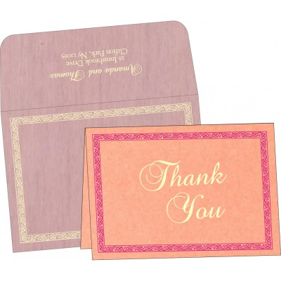 Thank You Cards - TYC-8211D