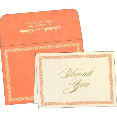 Thank You Cards - TYC-8211F