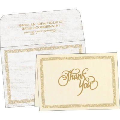 Thank You Cards - TYC-8211G