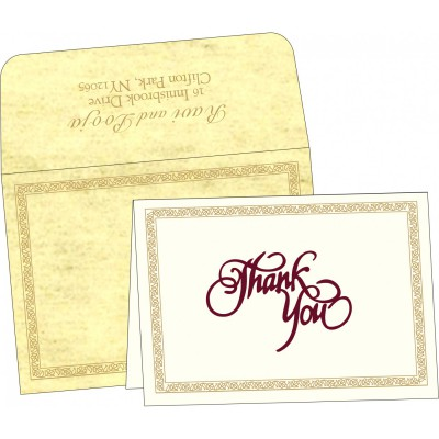 Thank You Cards - TYC-8211K