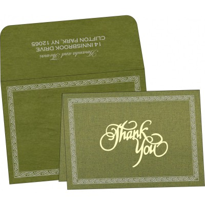 Thank You Cards - TYC-8211M