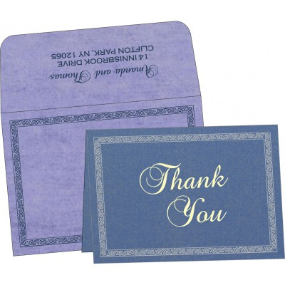 Thank You Cards - TYC-8211O