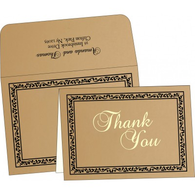 Thank You Cards - TYC-8214D