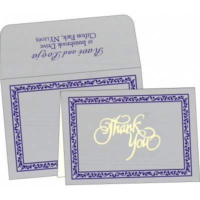 Thank You Cards - TYC-8214J