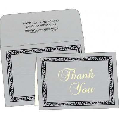 Thank You Cards - TYC-8214N