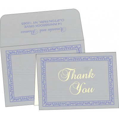 Thank You Cards - TYC-8214O