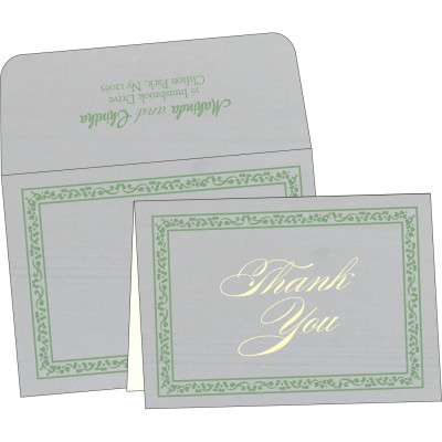 Thank You Cards - TYC-8214P