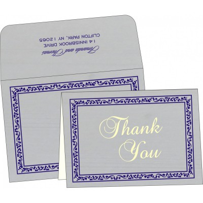 Thank You Cards - TYC-8214Q