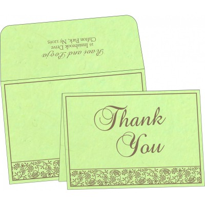 Thank You Cards - TYC-8215D