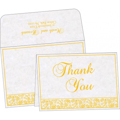 Thank You Cards - TYC-8215H