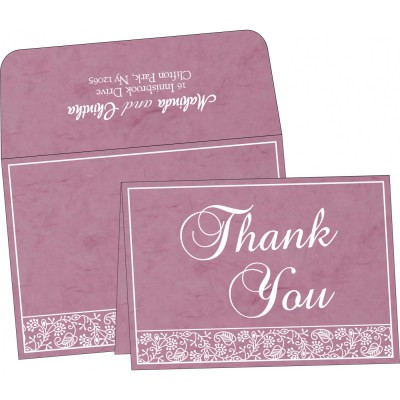 Thank You Cards - TYC-8215J