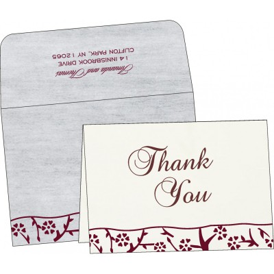 Thank You Cards - TYC-8216B