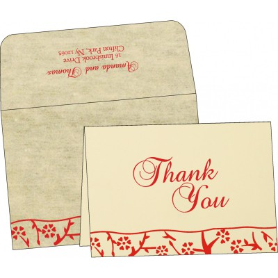 Thank You Cards - TYC-8216C