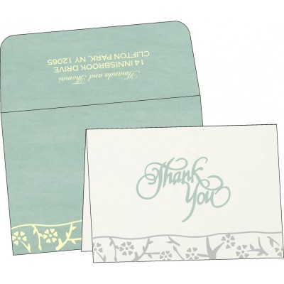 Thank You Cards - TYC-8216F