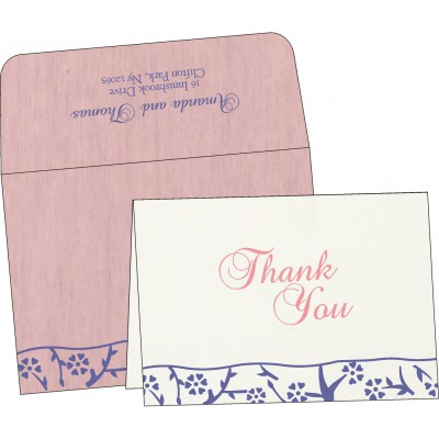 Thank You Cards - TYC-8216I
