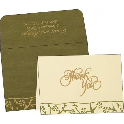 Thank You Cards - TYC-8216J