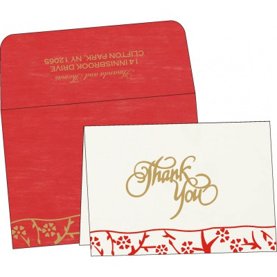 Thank You Cards - TYC-8216L