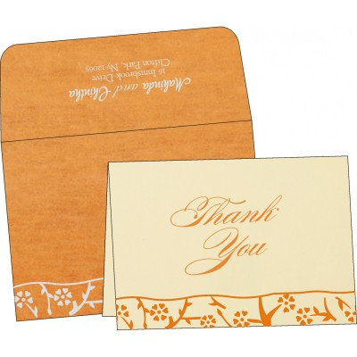 Thank You Cards - TYC-8216O
