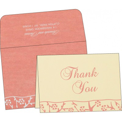 Thank You Cards - TYC-8216P