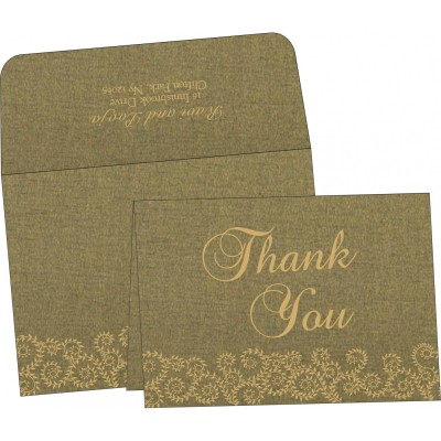 Thank You Cards - TYC-8217H