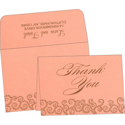 Thank You Cards - TYC-8217N