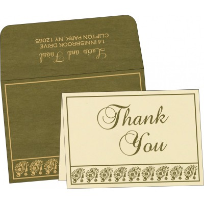 Thank You Cards - TYC-8218A