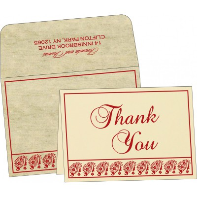 Thank You Cards - TYC-8218B