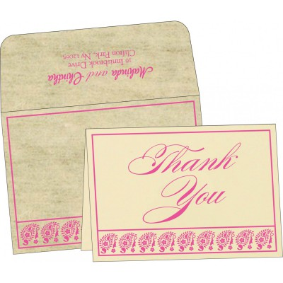 Thank You Cards - TYC-8218F